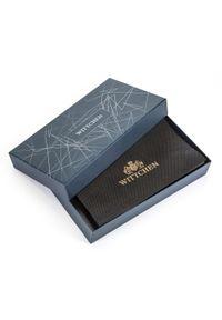 Wittchen - Damski portfel skórzany z kieszenią na telefon. Kolor: czerwony. Materiał: skóra