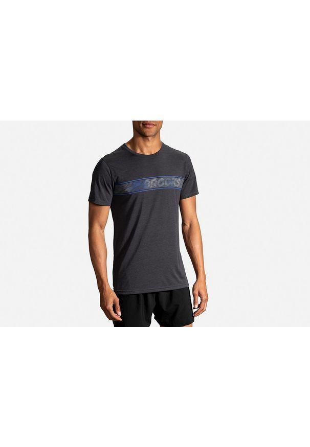 Koszulka do biegania Brooks Running krótka, z krótkim rękawem