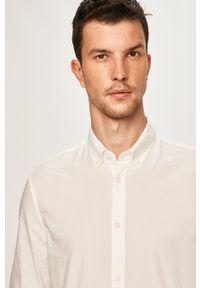 Biała koszula Pepe Jeans elegancka, długa