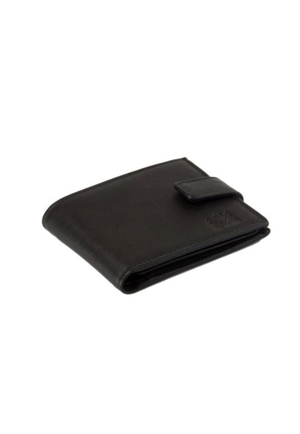 Czarny portfel Perfekt Plus