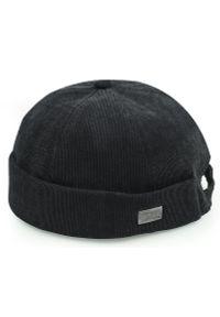 Czarna czapka Pako Jeans na lato