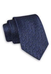 Niebieski krawat Chattier elegancki, melanż