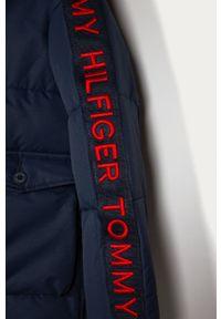 Niebieska kurtka TOMMY HILFIGER casualowa, na co dzień