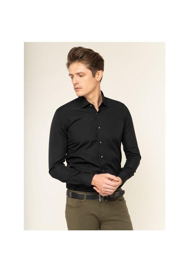 Czarna koszula casual Emanuel Berg