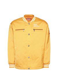 Żółta kurtka bomberka Guess
