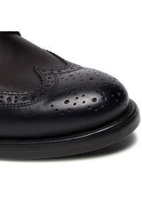 Brązowe buty zimowe Marc O'Polo z cholewką