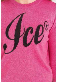 Sweter Ice Play krótki, z długim rękawem