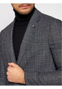 TOMMY HILFIGER - Tommy Hilfiger Tailored Marynarka Fks TT0TT08463 Szary Slim Fit. Kolor: szary