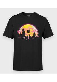MegaKoszulki - Koszulka męska Magiczny Hogwart. Materiał: bawełna