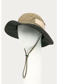 Zielony kapelusz columbia gładki