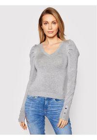 Guess Sweter Carole W1RR05 Z2NQ0 Szary Slim Fit. Kolor: szary