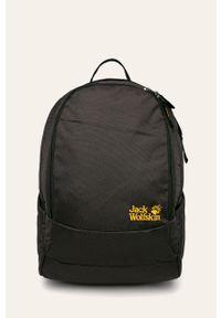 Czarny plecak Jack Wolfskin gładki