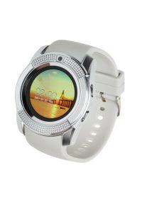Biały zegarek GARETT smartwatch