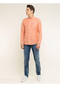 Pomarańczowa koszula casual Marc O'Polo polo