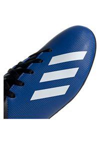 Adidas - Buty piłkarskie korki dla dzieci adidas X 19.4 EF1615. Zapięcie: sznurówki. Materiał: syntetyk, materiał. Szerokość cholewki: normalna. Sport: piłka nożna