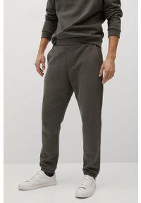 Spodnie dresowe Mango Man gładkie
