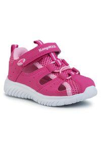 Różowe sandały KangaRoos rockowe