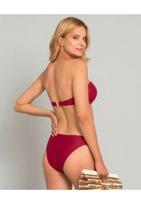 MISSION SWIM - Top od bikini Ines. Kolor: czerwony. Materiał: materiał