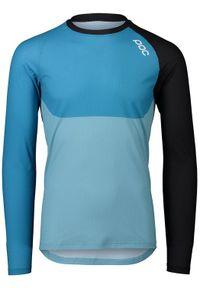 POC Koszulka rowerowa MTB Pure LS Basalt blue
