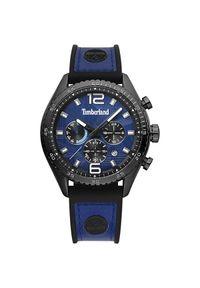 Niebieski zegarek Timberland elegancki