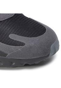Czarne półbuty Nike eleganckie, na co dzień, z cholewką