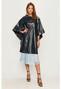 MAX&Co. - Płaszcz przeciwdeszczowy. Kolor: niebieski