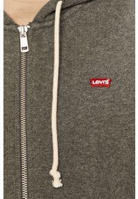 Szara bluza rozpinana Levi's® z kapturem, w kolorowe wzory, na spotkanie biznesowe, biznesowa #5