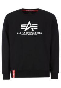 Alpha Industries Bluza Basic 178302 Czarny Regular Fit. Kolor: czarny