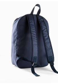 Niebieska torebka bonprix casualowa, na ramię, z napisami