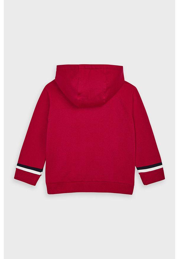 Czerwona bluza Mayoral casualowa, z kapturem