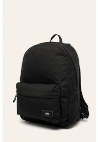 Czarny plecak Vans gładki