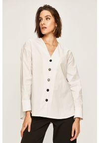 Biała koszula ANSWEAR casualowa, na co dzień, długa