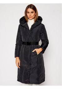 Czarny płaszcz zimowy MAX&Co.