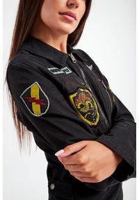 Aeronautica Militare - KOMBINEZON AERONAUTICA MILITARE. Okazja: na co dzień. Wzór: moro, haft, aplikacja. Styl: casual, militarny