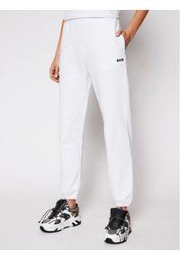 Białe spodnie dresowe MSGM