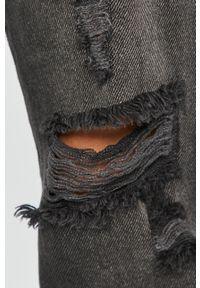 Szare jeansy loose fit Answear Lab wakacyjne