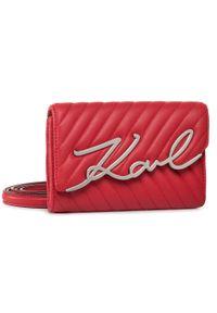 Czerwona nerka Karl Lagerfeld