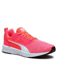 Różowe buty do biegania Puma