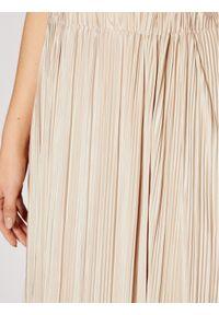 Samsoe & Samsoe - Samsøe Samsøe Spódnica plisowana Uma F18303206 Beżowy Regular Fit. Kolor: beżowy #5