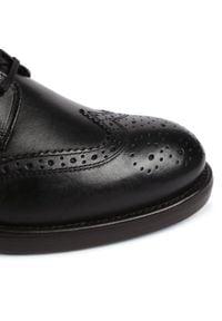 Czarne buty zimowe Marc O'Polo z cholewką, eleganckie
