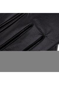 Semi Line - Rękawiczki Damskie SEMI LINE - P8200 Czarny. Kolor: czarny. Materiał: skóra