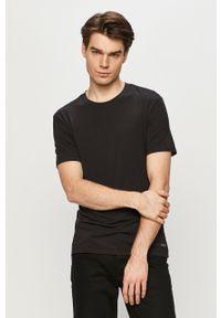 Czarny t-shirt Ted Baker casualowy, na co dzień