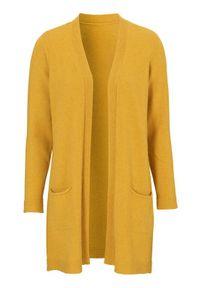 Cellbes Sweter ciemnożółty melanż female żółty 50/52. Typ kołnierza: dekolt w serek. Kolor: żółty. Materiał: dzianina. Wzór: melanż. Styl: klasyczny