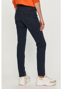 Niebieskie jeansy Lee gładkie #4