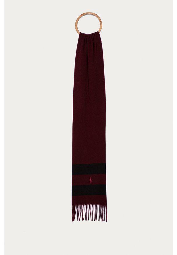 Brązowy szalik Polo Ralph Lauren