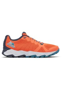 Pomarańczowe buty trekkingowe columbia