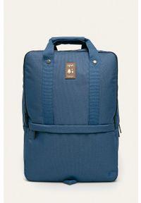 Lefrik - Plecak. Kolor: niebieski. Wzór: paski