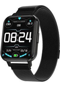 Smartwatch Bakeeley DT X Czarny. Rodzaj zegarka: smartwatch. Kolor: czarny