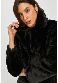 Czarny płaszcz Answear Lab bez kaptura, wakacyjny