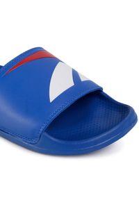 Klapki Reebok - Classic Slide FW5754 Vecblu/Vecred/White. Okazja: na co dzień. Kolor: niebieski. Materiał: skóra ekologiczna, skóra. Szerokość cholewki: normalna. Model: Reebok Classic #2